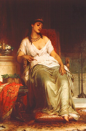 Sir Franck Dicksee cleopatra
