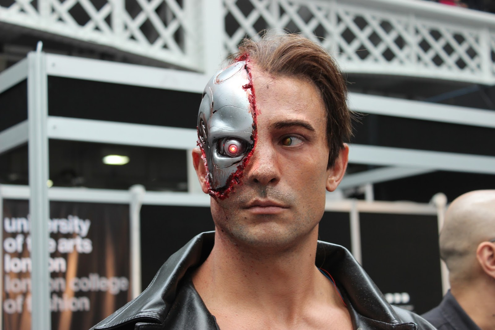 IMATS london 2014 robocop man