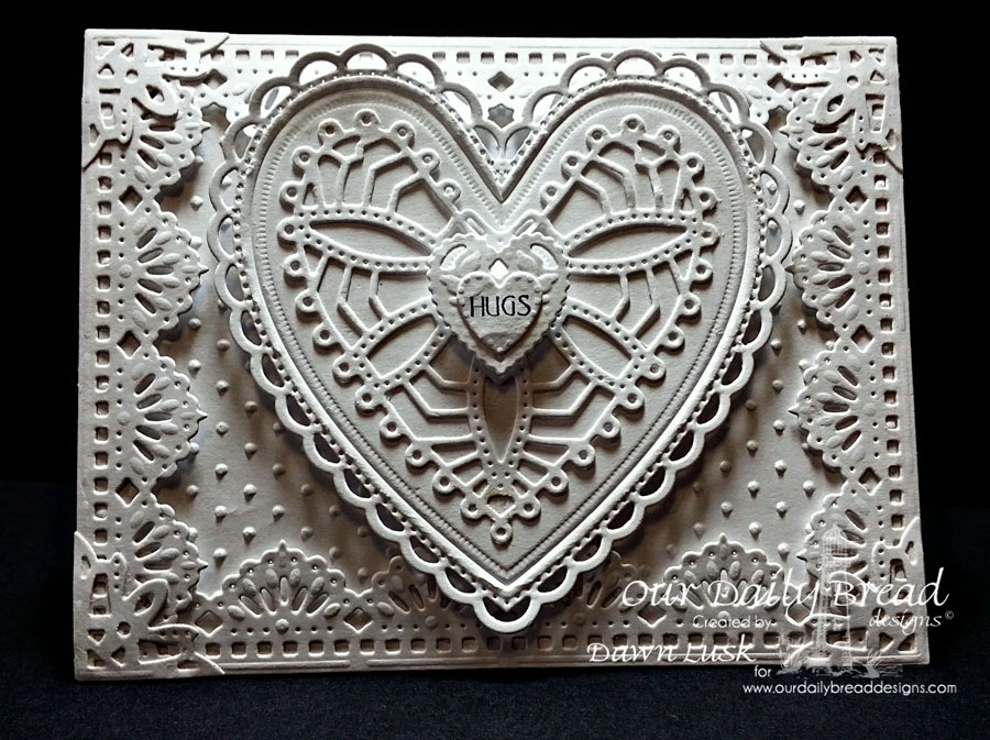 Stamps - Our Daily Bread Designs Be Mine, ODBD Custom Ornate Hearts Die, ODBD Custom Beautiful Borders Dies, ODBD Custom Ornate Borders & Flower Dies