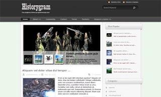 Historygram WordPress Theme