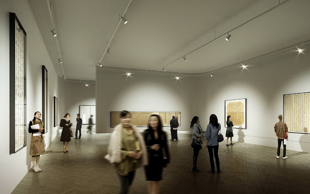 Photo of one of the rooms inside of new museum