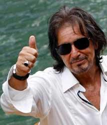 Al Pacino no Festival de Veneza