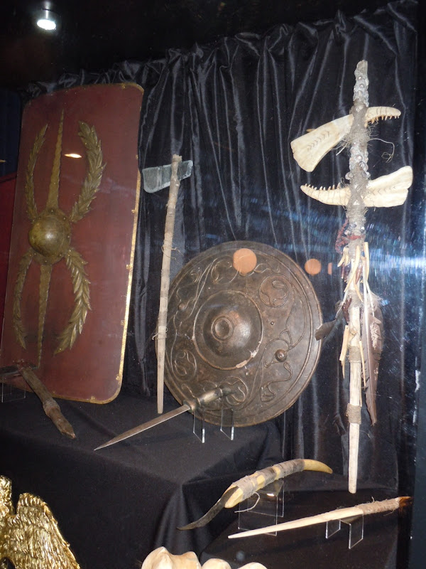 The Eagle movie prop display