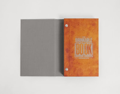 "The Book That can Clean Water "" Drinkable Book"""