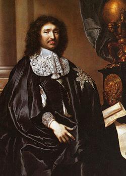 Conversa entre Colbert e Mazzarino no Reinado de Luís XIV
