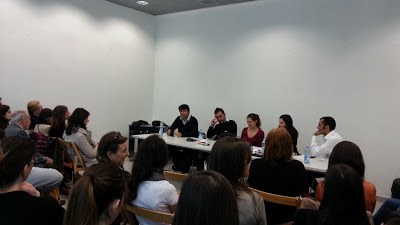 il tavolo dei relatori (Mem, Cagliari, 24 Maggio 2013)