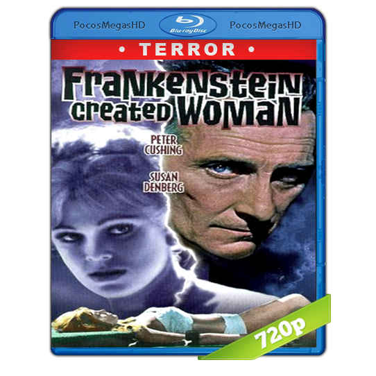 Frankenstein Created Woman (1967)BrRip 720p Inglés AC3+subs