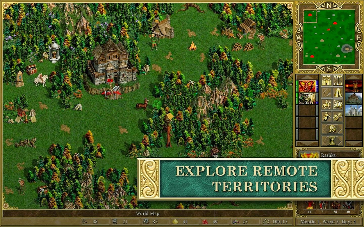 Heroes of Might & Magic III HD Apk Obb Android