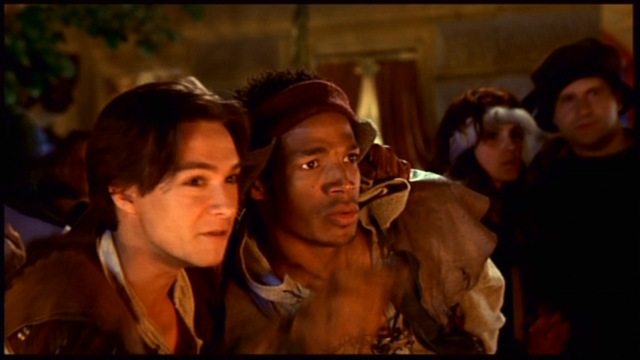 Justin Whalin and Marlon Wayans