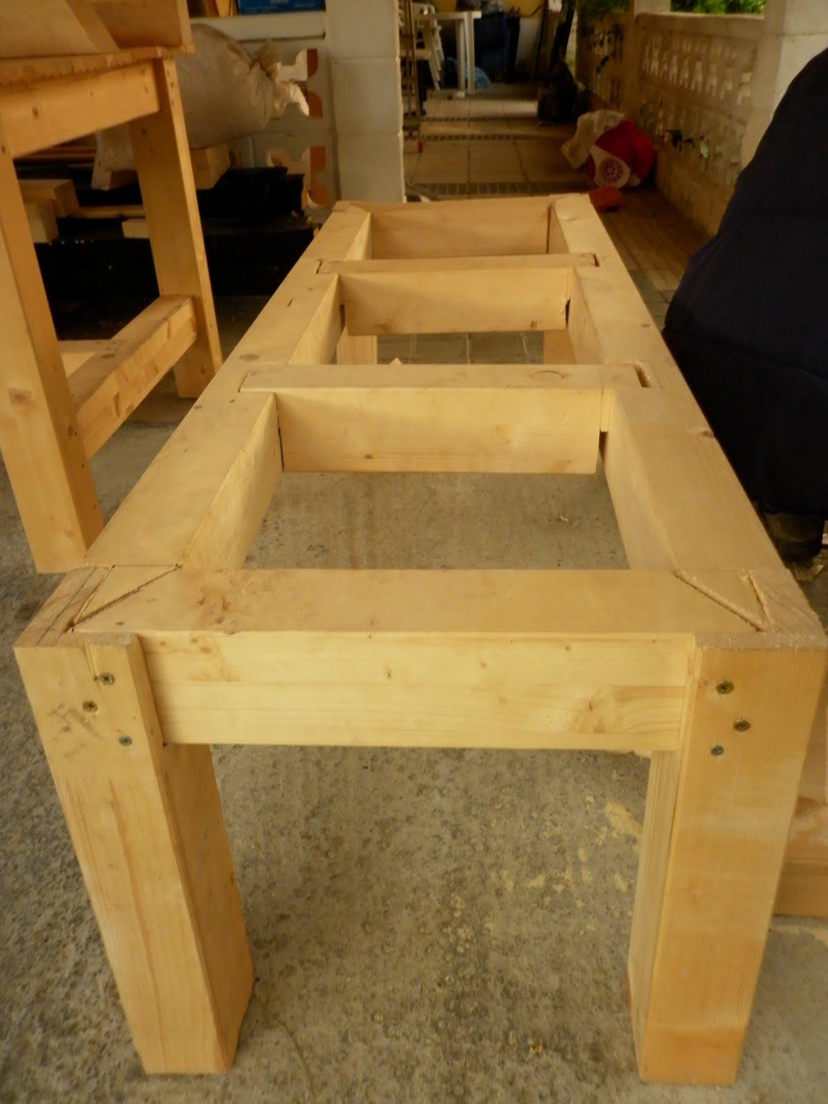Susoleto cosas de casa junio 2011 - Como hacer un porche de madera ...