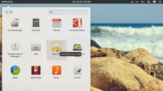 Linux Elementary OS 1