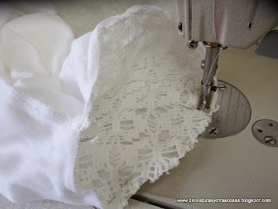 como-coser-manga-encaje