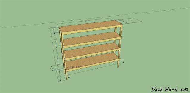 Woodworking basic wooden shelves plans PDF Free Download