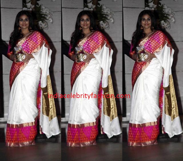 Vidya Balan in Raw Mango Saree
