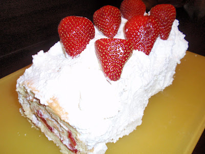 recipe, berry, whipped cream, easter, summer, spring, food, sweet