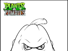 Plants Vs Zombies Coloring Pages All Plants