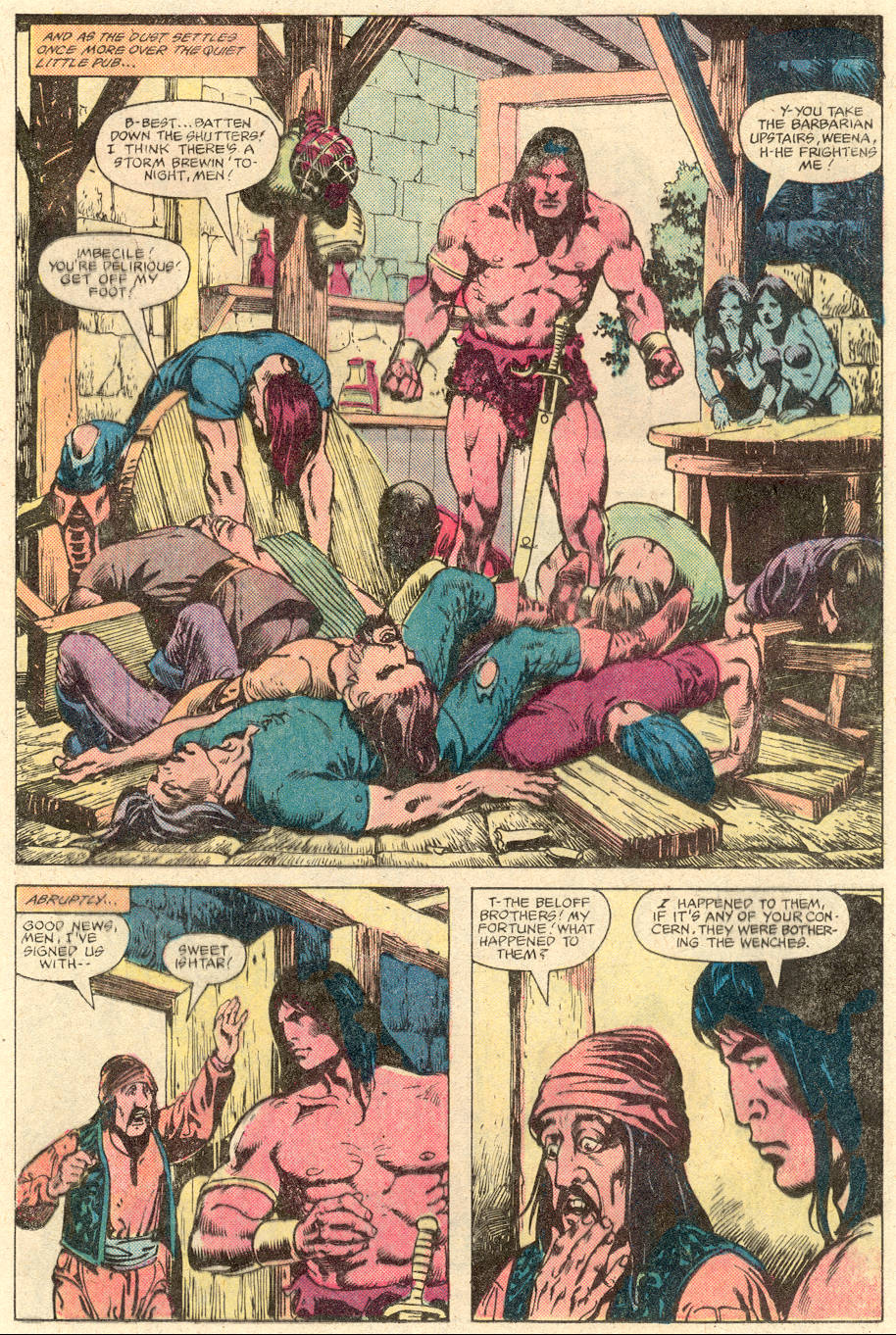 Conan the Barbarian (1970) Issue #137 #149 - English 12