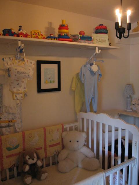 walk in closet baby nursery, closet baby room