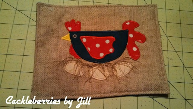 Mug Rugs Tutorial, shared by Cackleberries by Jill