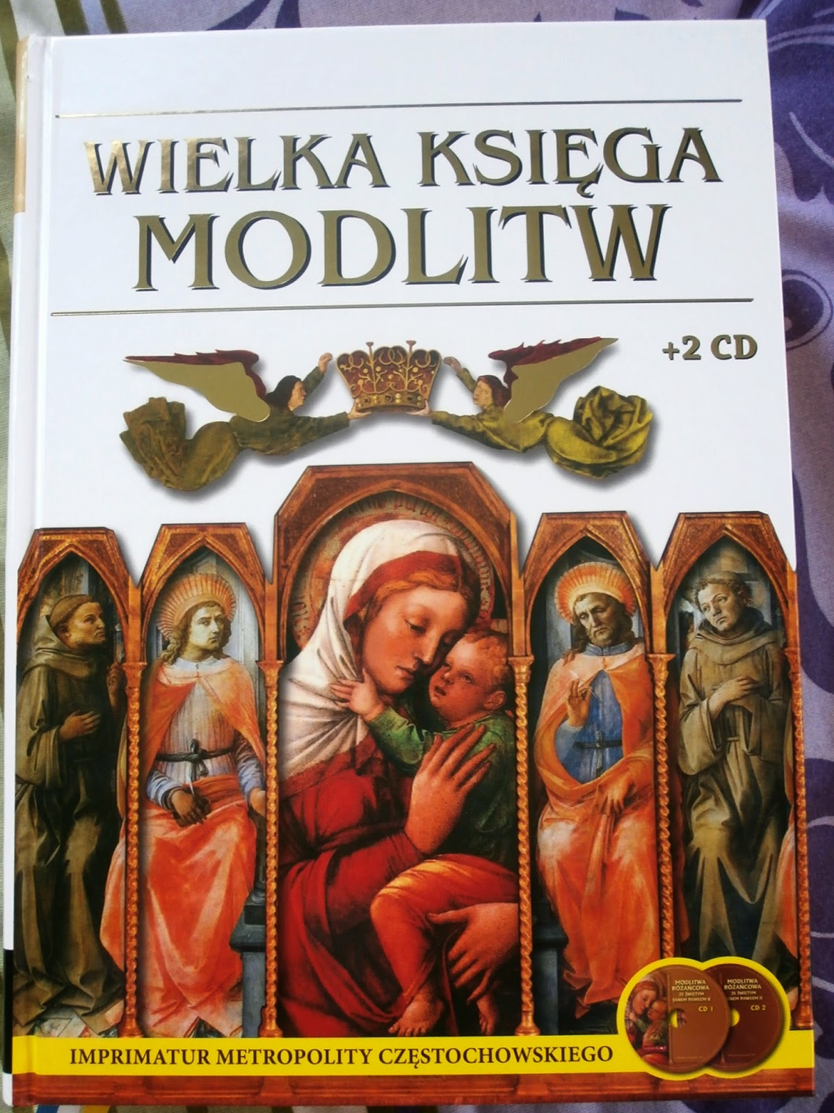 Wielka księga modlitw + 2 płyty CD.