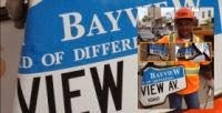 """""""Bent Bayview"""" sign comes down at Belsize"""