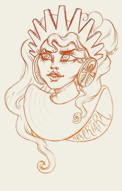 Nefertara-bust