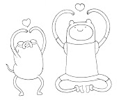 #12 Finn Coloring Page