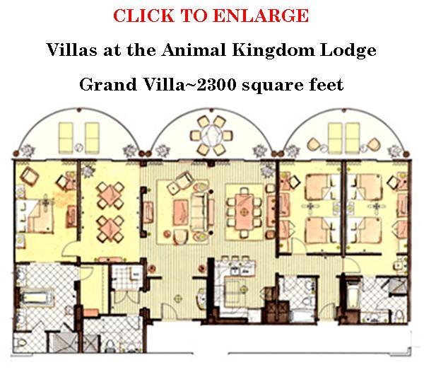 Jambo House Villas Grand Villa Floor Plan1