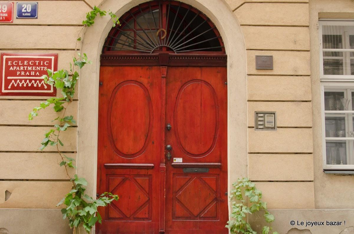 Prague - Mala Strana - porte