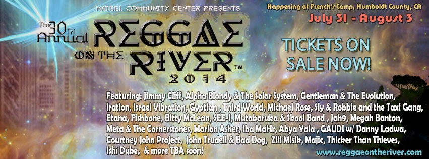 Reggae On The River 2014