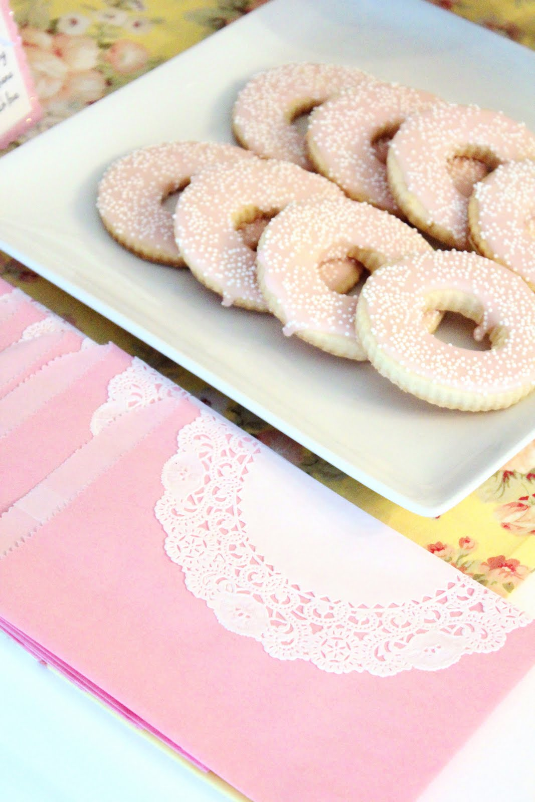 Icing Designs Quot Sprinkled With Love Quot Donut Baby Shower