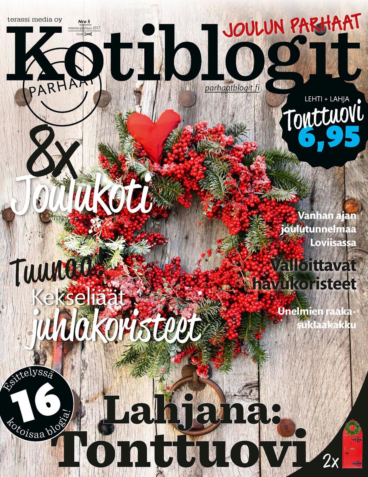 Marjakuja mukana Kotiblogit 5/2017