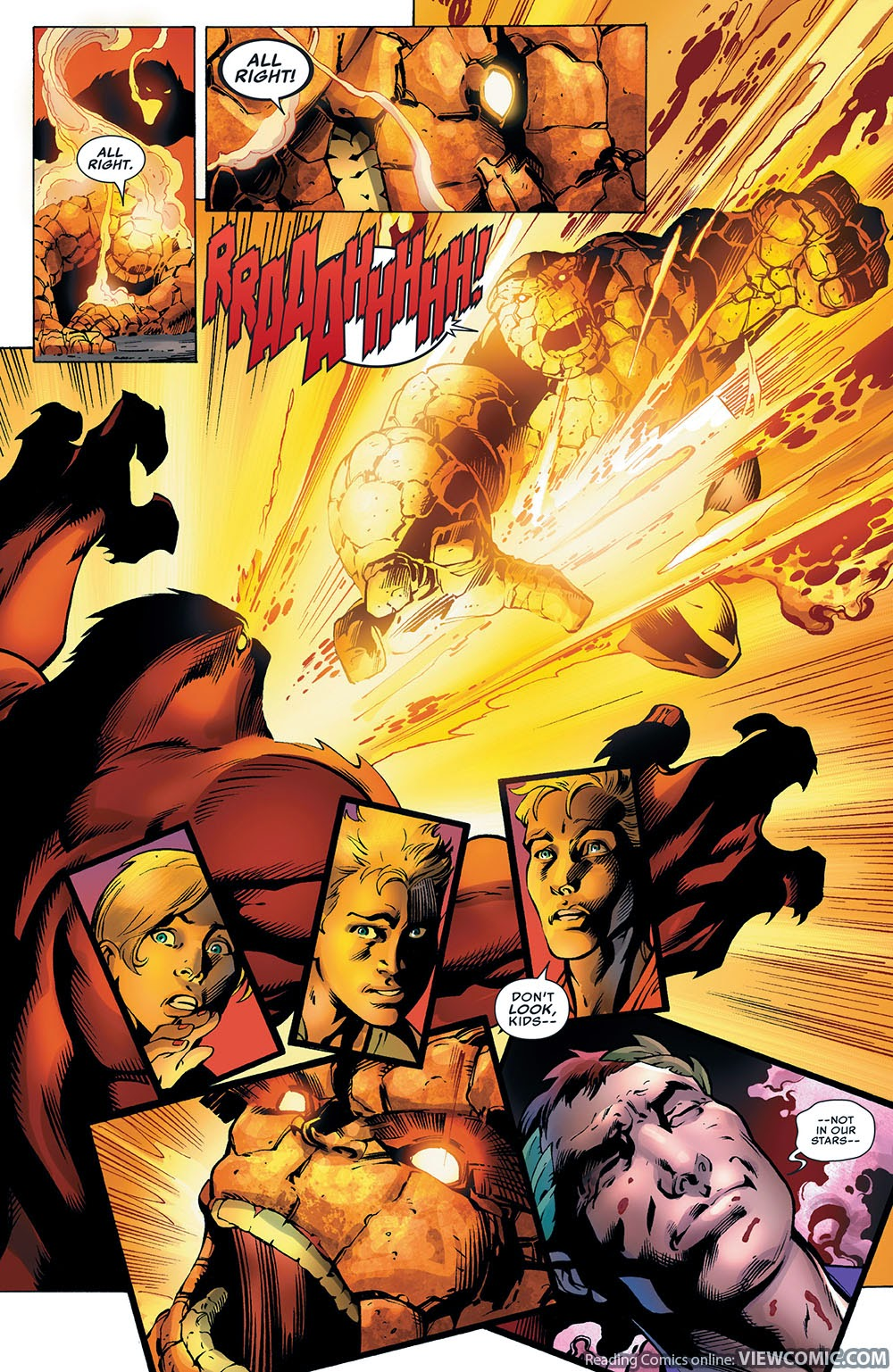 Fantastic four v4 005 2013 reading for The thing free online