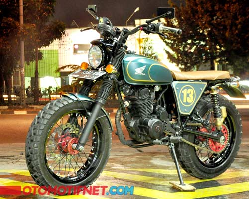 Modifikasi Honda CB 100, Engine Swap Tracker