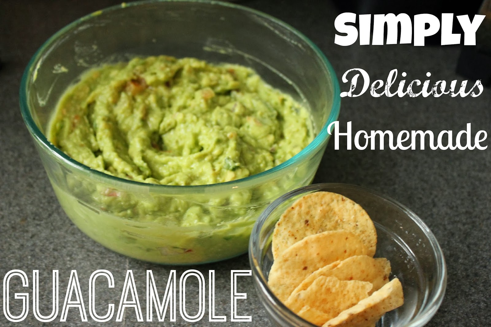 Simple and Delicious Homemade Guacamole