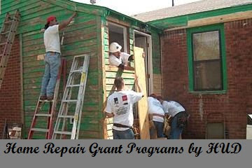 Home Repair Grant Programs by HUD