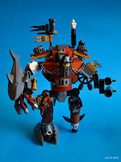 lego: metalbeard's duel - metalbeard on blue