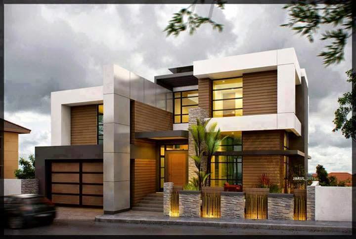 inspirasi fasad rumah minimalis modern