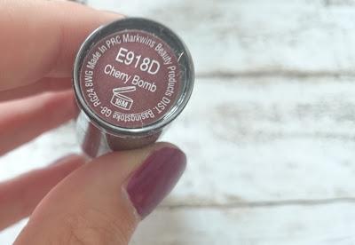[Beauty] wet n wild Mega Last Lipstick E918D Cherry Bomb