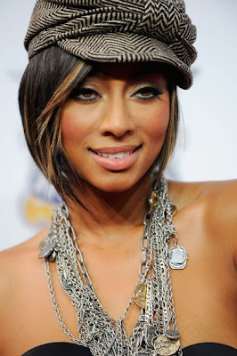 Keri Hilson Layered Chainlink Necklace