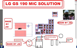 LG GS 190 MIC Problem SOLUTION
