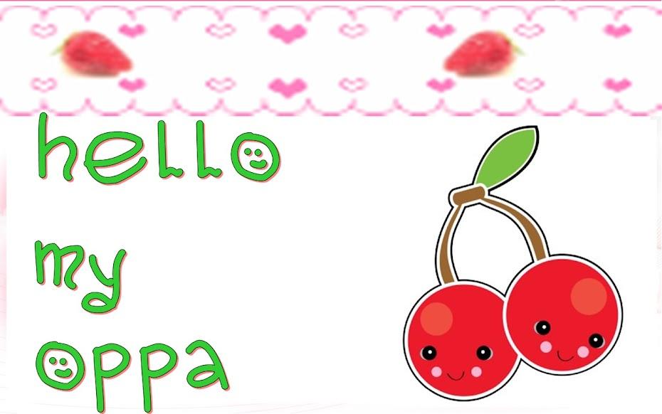 hello my oppa