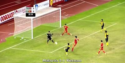 Malaysia U23 2-1 Vietnam U23 17 Disember 2013 Sukan SEA Myanmar 2013