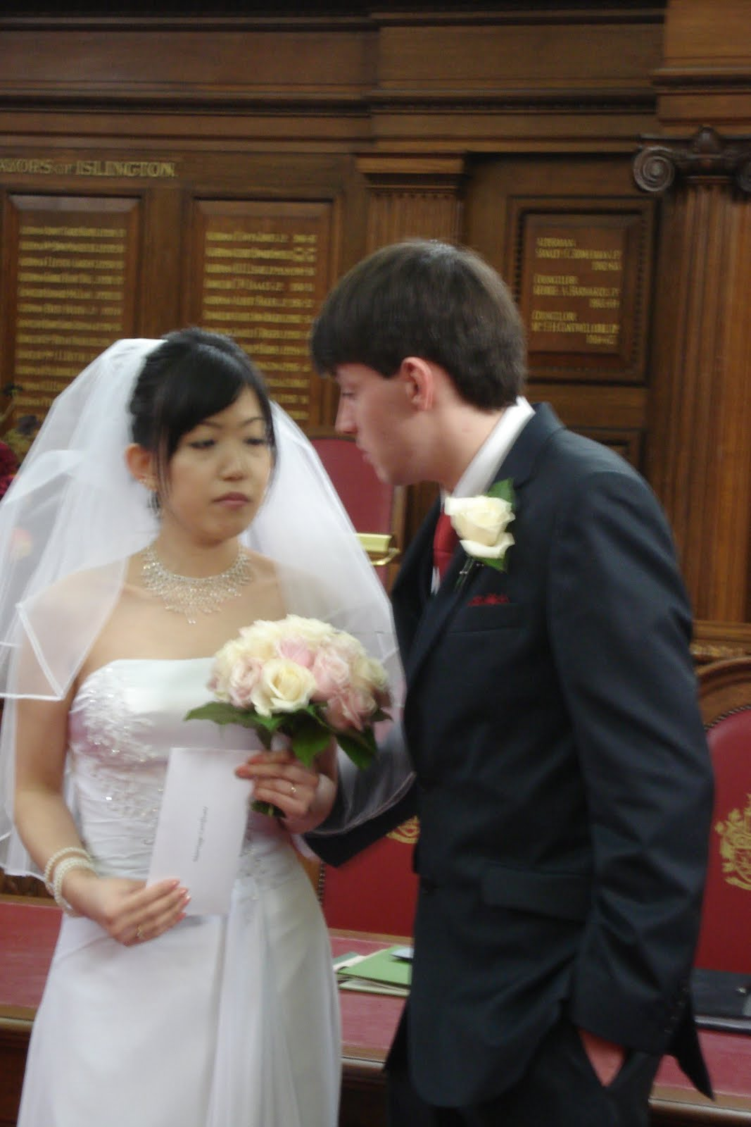 Welsh Quilts: Tom and Lily\'s Wedding - Islington Town Hall