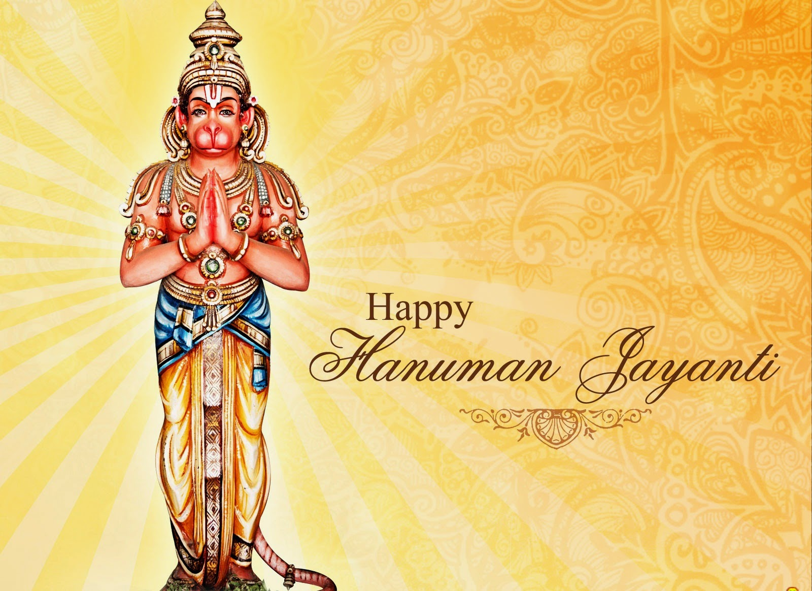 Happy Hanuman Jayanti Bajrangbalee Free Download HD Photos