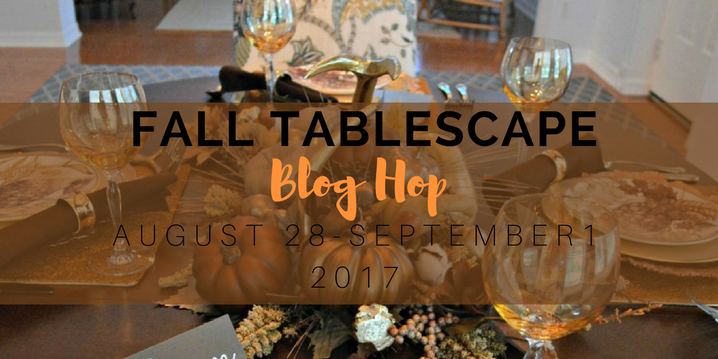 New Fall Tablescape Hop