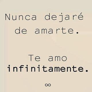 Te amo infinitamente