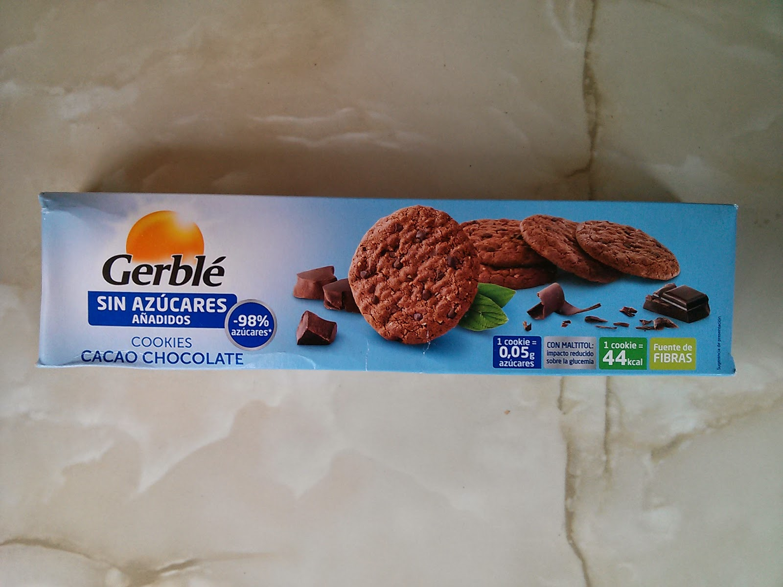 Cookies Gerble Degustabox