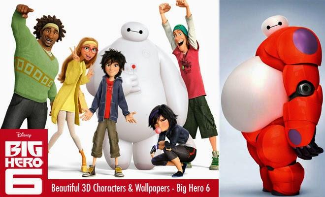 Film Big Hero 6 (2014) Cover