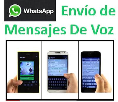 Whatsapp Nuevo Servicio Mensajes de Voz